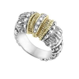 Alwand Vahan 14K gold and diamond ring